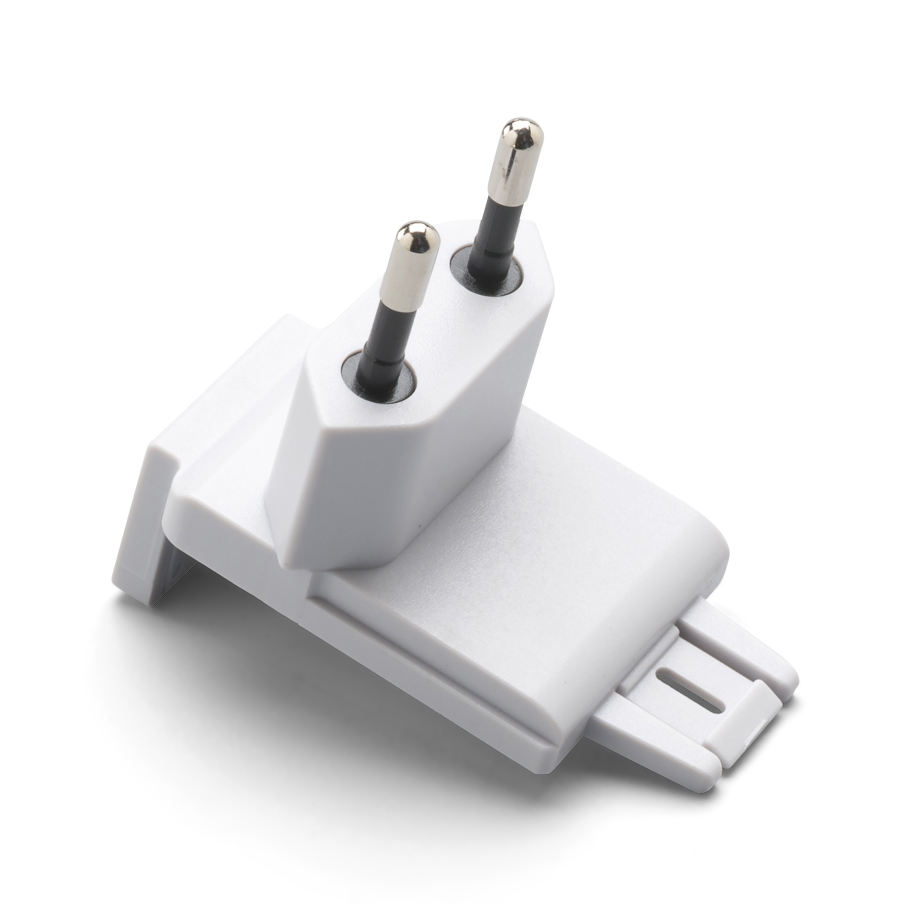 713265: Welch Allyn 5 W Plug Adapter; Power Supply Not Included (#713262); IEC Plug Type-C