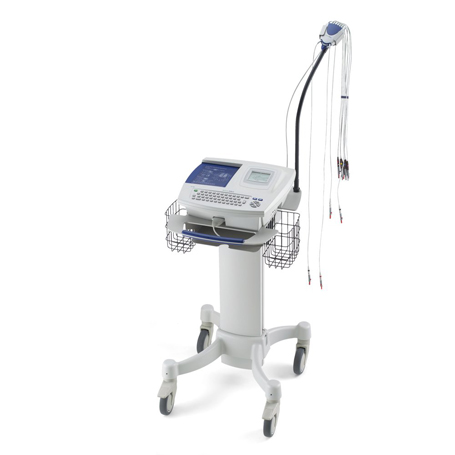 CP100 on Hospital Cart for CP100/CP200 with cable arm