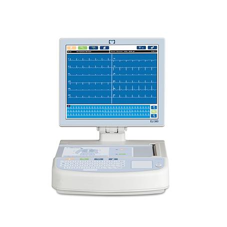 ECG de repos ELI 380: tout droit