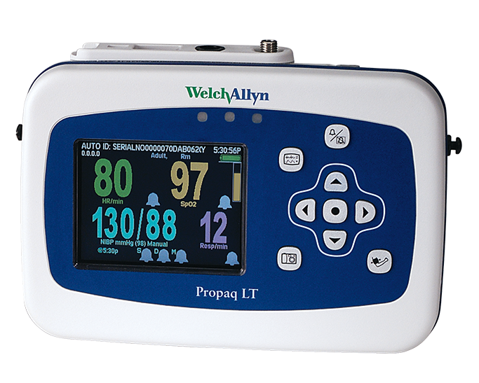 Welch Allyn Propaq® LT Monitor, front view