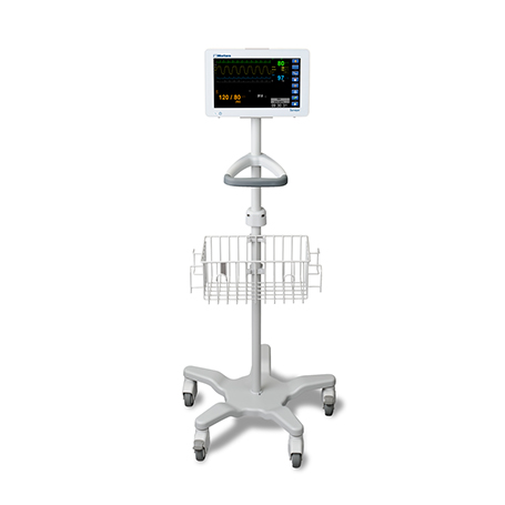 Surveyor S12 Patient Monitor on Cart