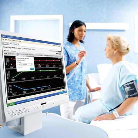 Connex 174 Vitals Management Software
