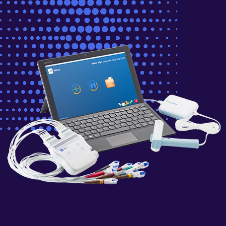 Welch Allyn Diagnostic Cardiology Suite ECG and Spirometry