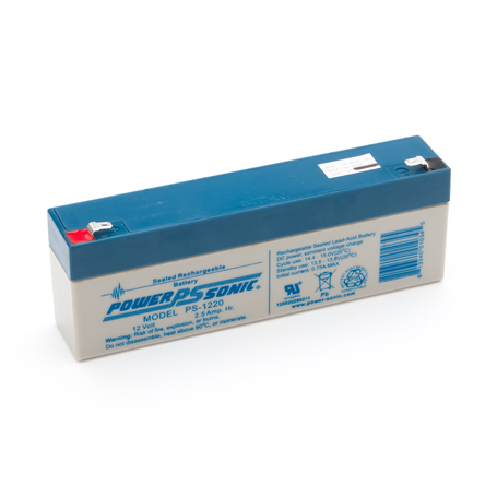 4800-006: Batterie, SLA rechargeable, 12V, 2.2,2.3Ah