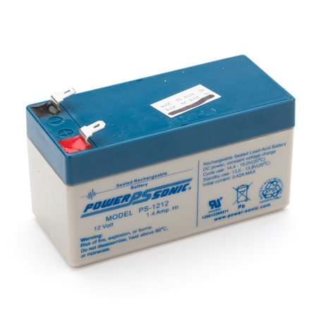 4800-008: Batterie, SLA rechargeable, 12V, 1.3, 1.4Ah