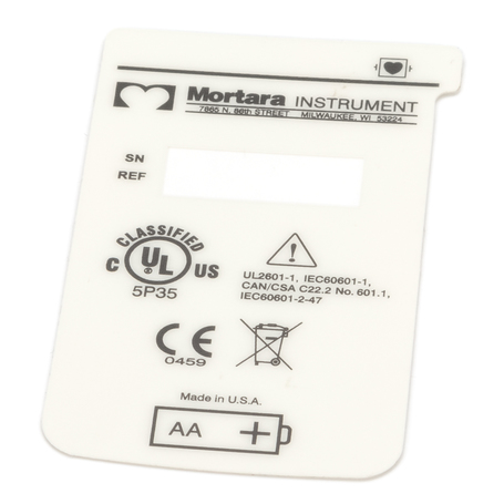 9042-027-01 : Label, Back, H12+