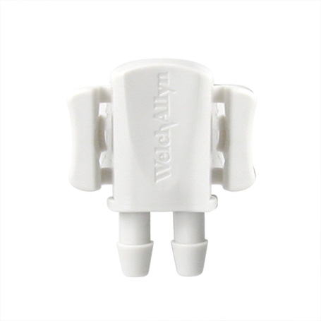 Port-2: Welch Allyn BP FlexiPort Fitting, 2-Tube, 10/PK